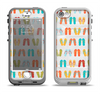 The Vintage Flip-Flops Apple iPhone 5-5s LifeProof Nuud Case Skin Set