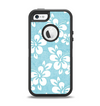 The Vintage Hawaiian Floral Apple iPhone 5-5s Otterbox Defender Case Skin Set