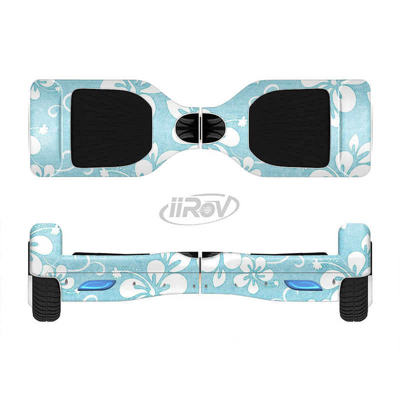 The Vintage Hawaiian Floral Full-Body Skin Set for the Smart Drifting SuperCharged iiRov HoverBoard