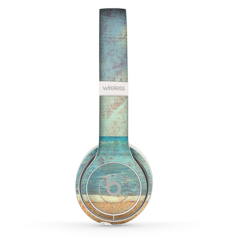 The Vintage Ocean Vintage Surface Skin Set for the Beats by Dre Solo 2 Wireless Headphones