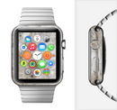 The Vintage Scratched and Worn Surface Full-Body Skin Set for the Apple Watch