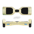 The Vintage Subtle Yellow Beach Scene Full-Body Skin Set for the Smart Drifting SuperCharged iiRov HoverBoard