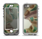 The Vintage Swirled Stripes with Name Tag Apple iPhone 5-5s LifeProof Nuud Case Skin Set