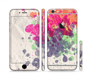 The Vintage WaterColor Droplets Sectioned Skin Series for the Apple iPhone 6/6s Plus