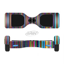 The Vivid Multicolored Stripes Full-Body Skin Set for the Smart Drifting SuperCharged iiRov HoverBoard