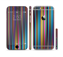 The Vivid Multicolored Stripes Sectioned Skin Series for the Apple iPhone 6/6s Plus