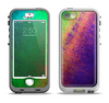 The Vivid Neon Colored Texture Apple iPhone 5-5s LifeProof Nuud Case Skin Set
