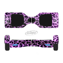 The Vivid Purple Leopard Print Full-Body Skin Set for the Smart Drifting SuperCharged iiRov HoverBoard
