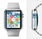 The Vivid Water Layers Full-Body Skin Set for the Apple Watch