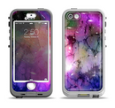 The Warped Neon Color-Splosion Apple iPhone 5-5s LifeProof Nuud Case Skin Set