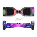 The Warped Neon Color-Splosion Full-Body Skin Set for the Smart Drifting SuperCharged iiRov HoverBoard