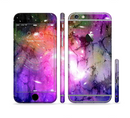 The Warped Neon Color-Splosion Sectioned Skin Series for the Apple iPhone 6/6s Plus