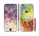 The WaterColor Grunge Setting Sectioned Skin Series for the Apple iPhone 6/6s Plus