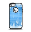 The Water Color Ice Window Apple iPhone 5-5s Otterbox Defender Case Skin Set