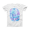 The Watercolor Dreamcatcher ink-Fuzed Front Spot Graphic Unisex Soft-Fitted Tee Shirt