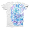 The Watercolor Dreamcatcher ink-Fuzed Unisex All Over Full-Printed Fitted Tee Shirt