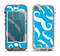 The White Mustaches with blue background Apple iPhone 5-5s LifeProof Nuud Case Skin Set