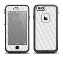 The White Studded Seamless Pattern Apple iPhone 6/6s LifeProof Fre Case Skin Set