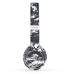 The White and Gray Digital Camouflage Skin Set for the Beats by Dre Solo 2 Wireless Headphones