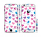 The White with Pink & Blue Vector Tweety Birds Sectioned Skin Series for the Apple iPhone 6/6s Plus