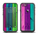 The Wide Neon Wood Planks Apple iPhone 6/6s LifeProof Fre Case Skin Set