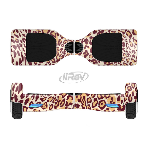 The Wild Leopard Print Full-Body Skin Set for the Smart Drifting SuperCharged iiRov HoverBoard