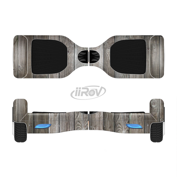 The Wooden Wall-Panel Full-Body Skin Set for the Smart Drifting SuperCharged iiRov HoverBoard