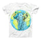 The Worldwide Sacred Elephant ink-Fuzed Unisex All Over Full-Printed Fitted Tee Shirt