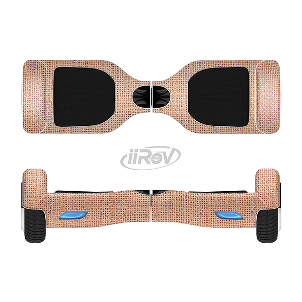 The Woven Burlap Full-Body Skin Set for the Smart Drifting SuperCharged iiRov HoverBoard