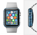 The Wrinkled Jean texture Full-Body Skin Set for the Apple Watch