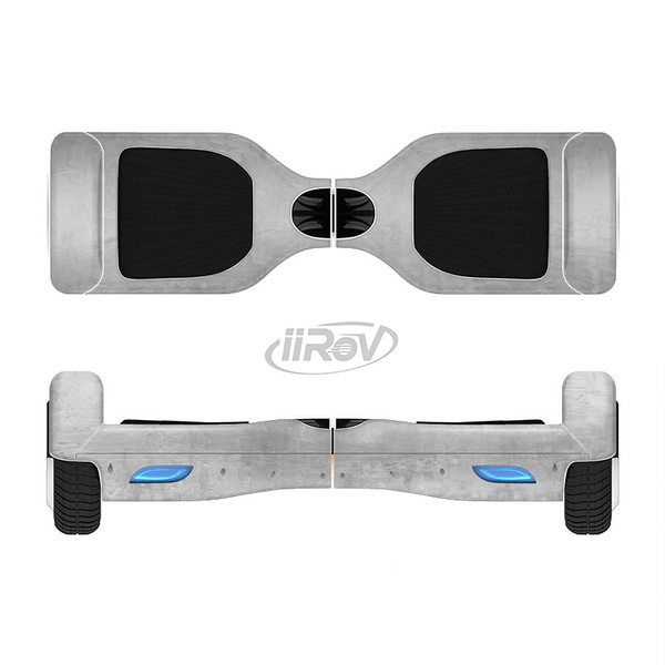 The Wrinkled Silver Surface Full-Body Skin Set for the Smart Drifting SuperCharged iiRov HoverBoard