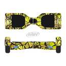 The Yellow Butterfly Bundle Full-Body Skin Set for the Smart Drifting SuperCharged iiRov HoverBoard