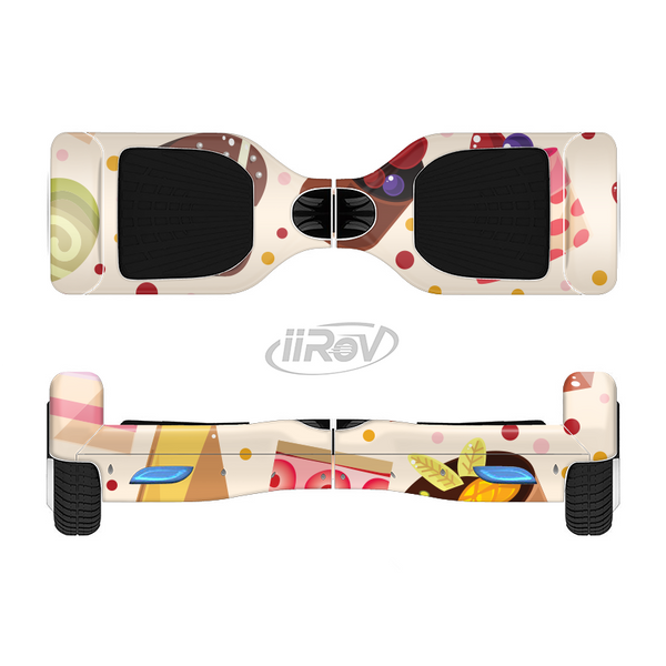 The Yummy Dessert Pattern Full-Body Skin Set for the Smart Drifting SuperCharged iiRov HoverBoard