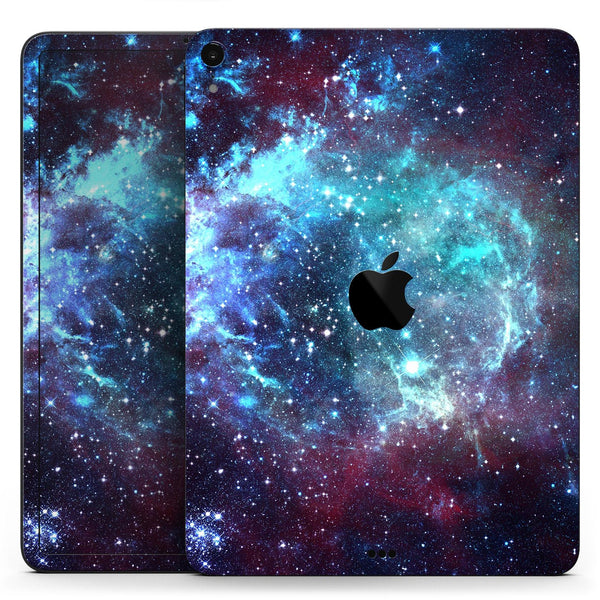 "Trippy Space - Full Body Skin Decal for the Apple iPad Pro 12.9"", 11"", 10.5"", 9.7"", Air or Mini (All Models Available)"