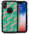 Tropical Coral Floral v1 - iPhone X OtterBox Case & Skin Kits