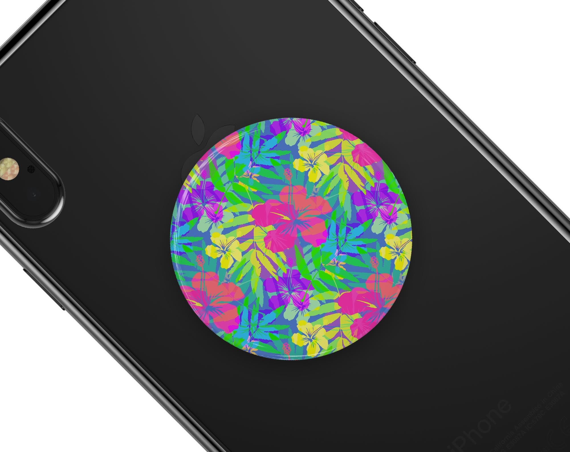 DesignSkinz Premium Decal Sticker Skin-Kit for PopSockets Smartphone Extendable Grip /& Stand Carbon Fiber Texture