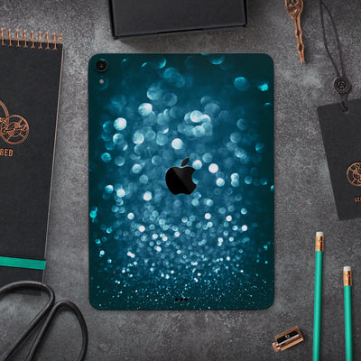 "Unfocused Blue Glowing Orbs of Light - Full Body Skin Decal for the Apple iPad Pro 12.9"", 11"", 10.5"", 9.7"", Air or Mini (All Models Available)"