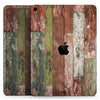 "Vintage Wood Planks - Full Body Skin Decal for the Apple iPad Pro 12.9"", 11"", 10.5"", 9.7"", Air or Mini (All Models Available)"