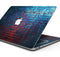 "Vivid Blue Brice Alley - Skin Decal Wrap Kit Compatible with the Apple MacBook Pro, Pro with Touch Bar or Air (11"", 12"", 13"", 15"" & 16"" - All Versions Available)"