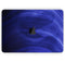 "Vivid Agate Vein Slice Blue V7 - Skin Decal Wrap Kit Compatible with the Apple MacBook Pro, Pro with Touch Bar or Air (11"", 12"", 13"", 15"" & 16"" - All Versions Available)"