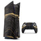 Vivid Agate Vein Slice Foiled V9 - Full Body Skin Decal Wrap Kit for Sony Playstation 5, Playstation 4, Playstation 3, & Controllers