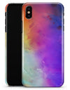 Washed 42321 Absorbed Watercolor Texture - iPhone X Clipit Case