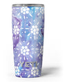 White_Abstract_Flowers_Over_Purple_and_Blue_Cloud_Mix_-_Yeti_Rambler_Skin_Kit_-_20oz_-_V3.jpg