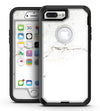 White Slight Grunge Marble Surface - iPhone 7 Plus/8 Plus OtterBox Case & Skin Kits