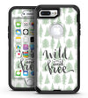 Wild and Free - iPhone 7 Plus/8 Plus OtterBox Case & Skin Kits