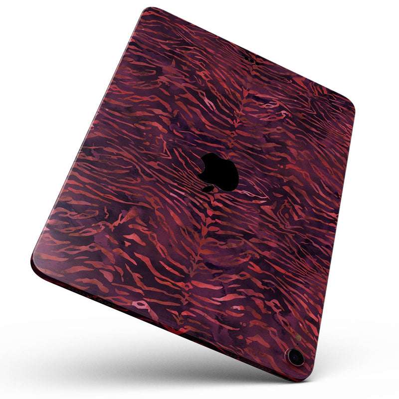 The Grungy Blue Watercolor Surface Skin Set for the Apple iPad All Models Available