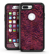 Wine Watercolor Tiger Pattern - iPhone 7 Plus/8 Plus OtterBox Case & Skin Kits