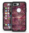 Wine Watercolor Zebra Pattern - iPhone 7 Plus/8 Plus OtterBox Case & Skin Kits