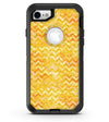 Yellow Basic Watercolor Chevron Pattern - iPhone 7 or 8 OtterBox Case & Skin Kits