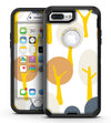 Yellow Cartoon Trees - iPhone 7 Plus/8 Plus OtterBox Case & Skin Kits